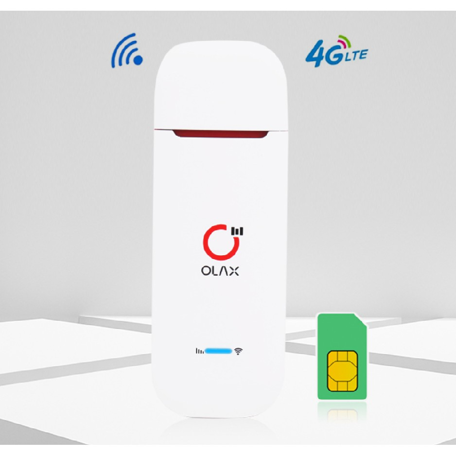 USB Phát Wifi 4G ZTE Olax U90 (Kèm Anten) tốc độ 150Mbps đa mạng – hỗ trợ 10 thiết bị truy cập cùng lúc