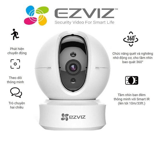 Camera Wifi dòng P/T EZVIZ _CS-CV246 720P - Hàng chính hãng