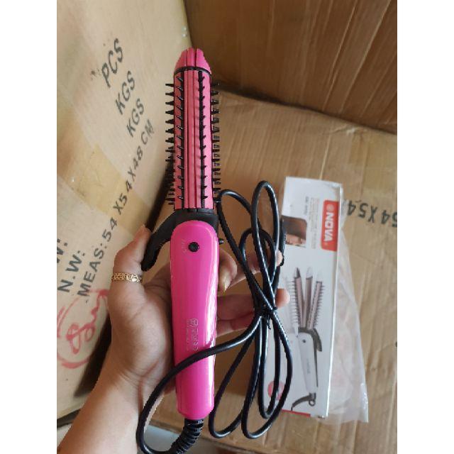 Máy uốn duỗi bấm tóc Nova 8890