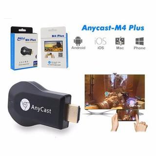 [Mã ELFLASH5 giảm 20K đơn 50K] Thiết bị kết nối HDMI không dây từ điện thoại lên tivi Anycast M4 PLUS