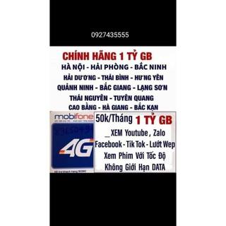 SIM 4G MOBI DIP50 và BL5GT XÀI MAX BĂNG THÔNG KHÔNG GIỚi HẠN DATA