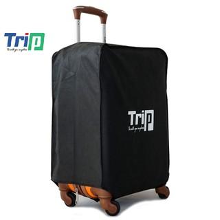 Áo trùm vali TRIP vải không dệt màu đen thumbnail