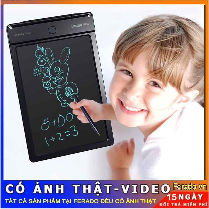Bảng viết thông minh LCD tự xóa 8.5 inch cho bé tập vẽ, viết ( sáng tạo)