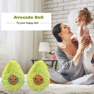 💕[IN STOCK/COD]💕Stuffed Fleece Toys Pillow Food Avocado Doll Lumbar