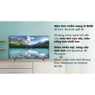 Smart tivi QLED Samsung 4K 82 inch QA82Q65R.