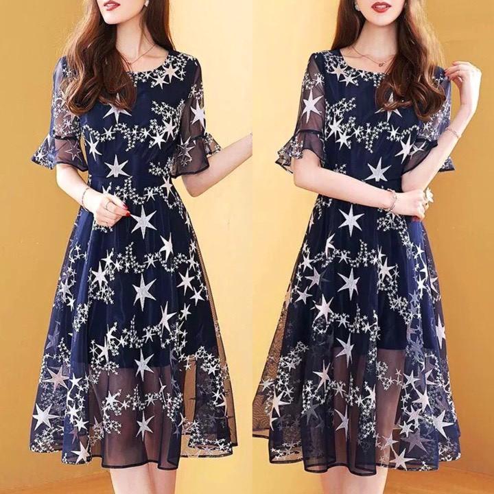 Đầm Dự Tiệc Xoè Siêu Sang MSNN1765
