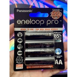 ✅Hàng Chuẩn-Giá Rẻ Nhất✅Pin sạc Eneloop Pro 2550mAh – AA ( bộ 4 viên pin tiểu đen )