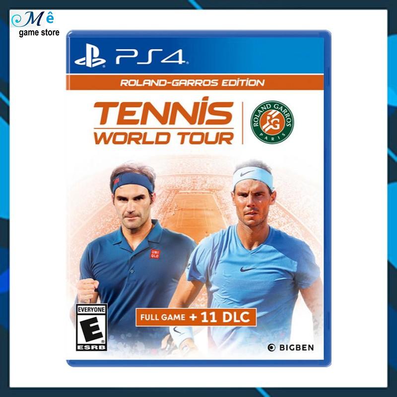 Game PS4: Tennis World Tour Roland-Garros Edition
