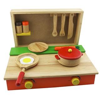 Bộ đồ chơi nấu ăn bằng gỗ cho bé Winwintoys