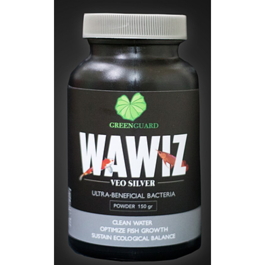 Combo 6 hũ WAWIZ VEO SILVER - Men vi sinh xử lý môi trường nước