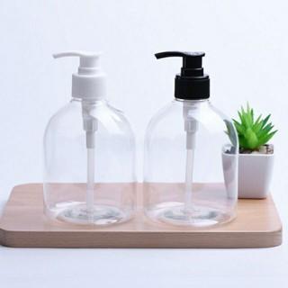 Chai nhựa vòi nhấn 500ml dùng chiết sữa tắm, nước rửa tay cao cấp