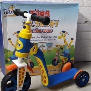 Xe trượt scooter 2in 1