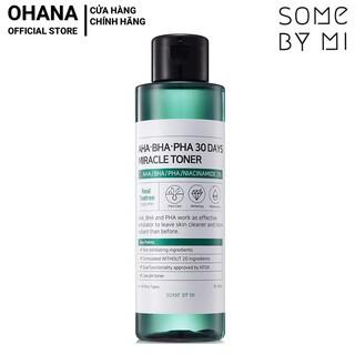 Nước Hoa Hồng Trị Mụn Some By Mi AHA-BHA-PHA 30 Days Miracle Toner 150ml