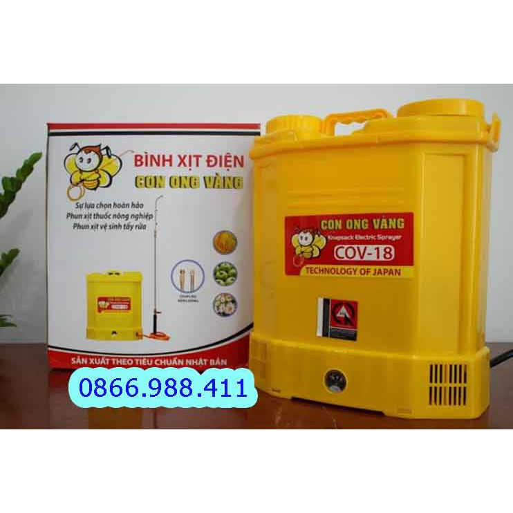 Máy phun thuốc trừ sâu, bình xịt diệt côn trùng COV18 lit (chính hãng Oshima )