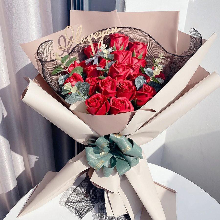Hoa sáp thơm món quà ý nghĩa - hoa hồng sáp đẹp - quà tặng cho ngày 8/3 - Hàng cao cấp bền bỉ và lưu hương cực lâu