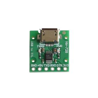 CH340E USB to TTL Serial Converter, 5V/3.3V Alternative CH340G Module for pro mini