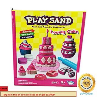 Đồ chơi cát động lực bánh sinh nhật