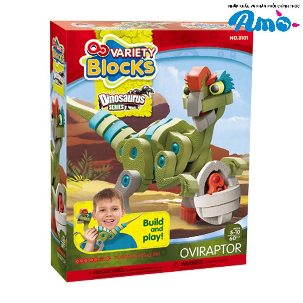 Bộ lắp ráp Puzzle 3D Khủng long xanh 60mảnh ghép - 3101