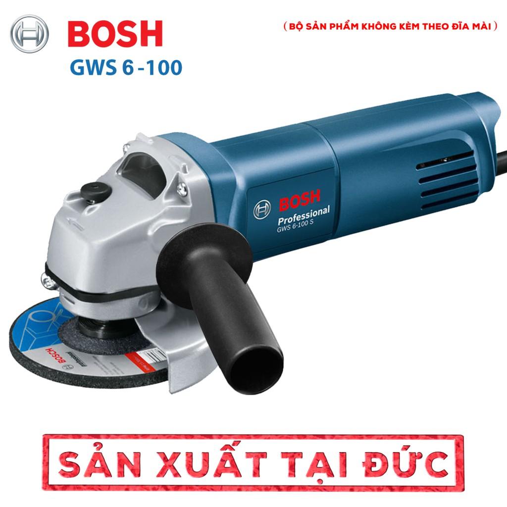 Mua 1 Tặng 1 - Máy Mài Cầm Tay Bosch 670W Tặng Lưỡi Cưa Xích Chain Saw gắn máy mài – Máy Cắt, Máy Mài Góc Cầm Tay