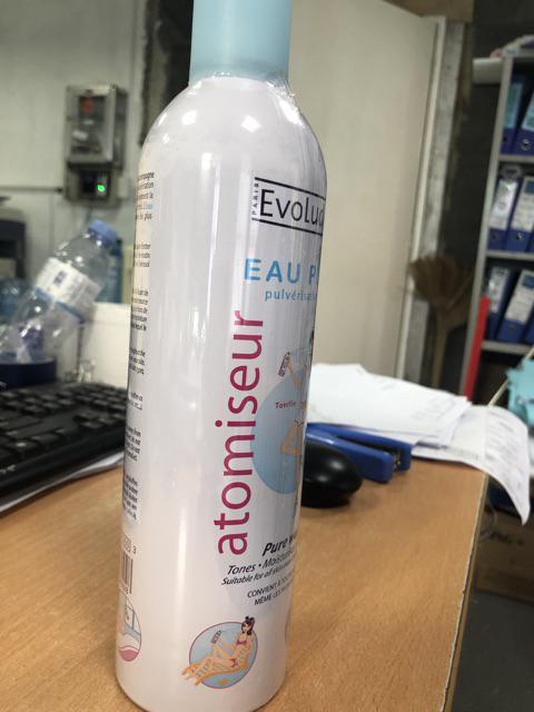 Đánh giá sản phẩm Xịt khoáng Evoluderm Atomiseur Eau Pure 400ml của domstorekh