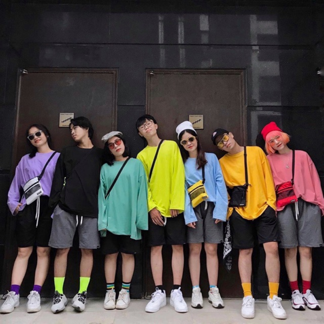 Áo dài tay trơn unisex siêu hot 2019 có kèm ảnh thật và video