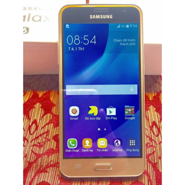 Điện thoại Samsung Galaxy J3 LTE 2016 - 2 sim - Fullbox Bảo hành 12 tháng - Hàng nhập khẩu