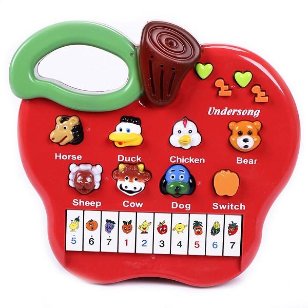 Đàn piano phát tiếng động vật hình quá táo cho bé - 10085073 , 775255612 , 322_775255612 , 89000 , Dan-piano-phat-tieng-dong-vat-hinh-qua-tao-cho-be-322_775255612 , shopee.vn , Đàn piano phát tiếng động vật hình quá táo cho bé