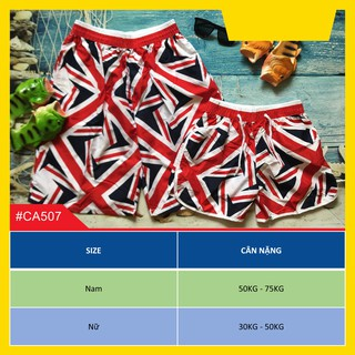 Quần cặp nam nữ họa tiết cờ Anh thumbnail