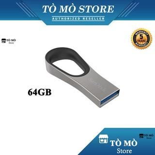 [Mã ELFLASH5 giảm 20K đơn 50K] USB 3.0 SanDisk Ultra Loop CZ93 64GB tốc độ đọc 130MB/s - Bảo hành 5 năm