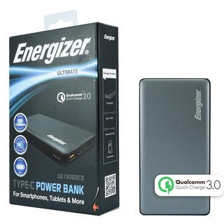 Pin Sạc Dự Phòng Energizer 15.000mAh QC 3.0 UE15002CQ – Hãng Chính Hãng