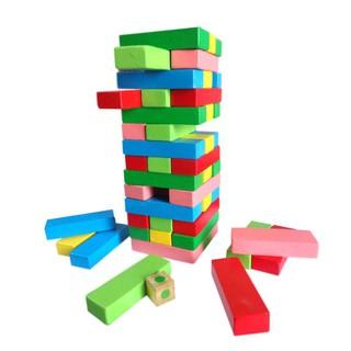 đồ chơi rút gỗ màu