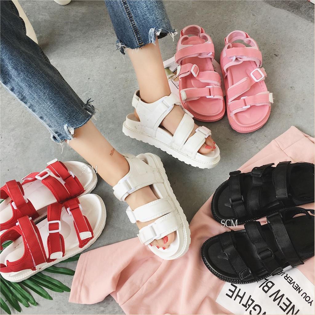 Giày sandal bánh mì 3 khóa 02 | giày sandal nữ đế bánh mì - 2572519 , 315908837 , 322_315908837 , 220000 , Giay-sandal-banh-mi-3-khoa-02-giay-sandal-nu-de-banh-mi-322_315908837 , shopee.vn , Giày sandal bánh mì 3 khóa 02 | giày sandal nữ đế bánh mì