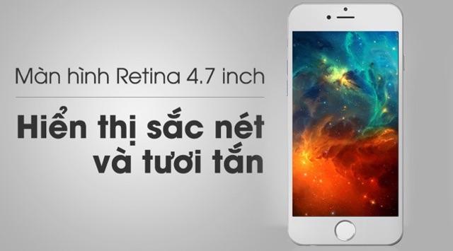 Điện Thoại Apple iphone 6 16GB. Hàng quốc tế, Hàng chính hãng, đẹp 98% - 99%