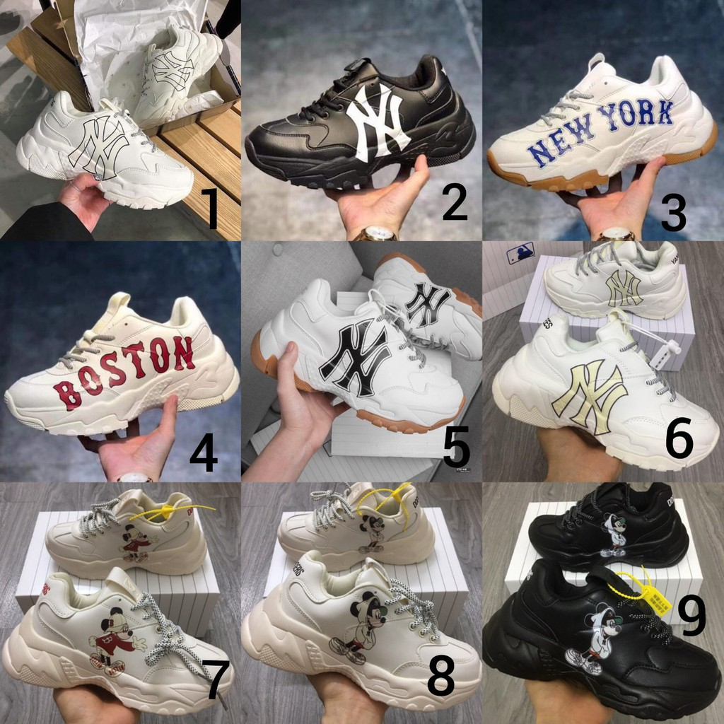 ⚡️⚡️[Fullbox] Giày MLB cao