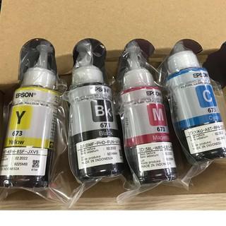 ☘️Mực in màu Epson T673 mực máy in Epson L800 / L810 / L805 / L850 / L1800 nhập khẩu