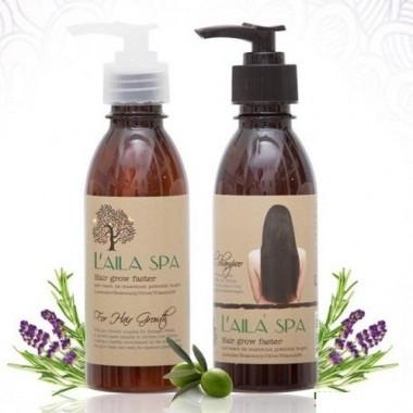 Bộ dầu gội kích thích mọc tóc Laila Spa