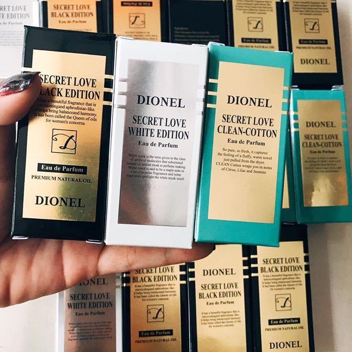 Tinh dầu Secret Love Dionel chính hãng Hàn Quốc đủ 3 màu có tem