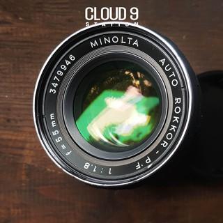 Ống kính MF - Minolta Auto ROKKOR-PF 55mm f1.8 ngàm Minolta MD ( SR ) - 3479946 thumbnail