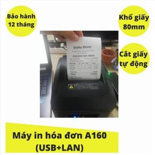 Máy in hóa đơn nhiệt Xprinter A160 USB+LAN