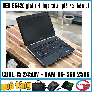 Yêu Thích(chơi game+đồ họa giá rẻ) Dell Latitude E5420 core i5 2450M laptop cũ nhập khẩu