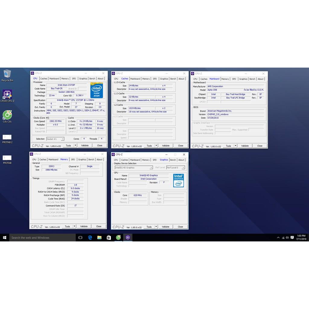 chiếc máy tính Pro Tab 32GB Mini PC With Windows 10 chiếc máy tính bé nhất thế dưới .
