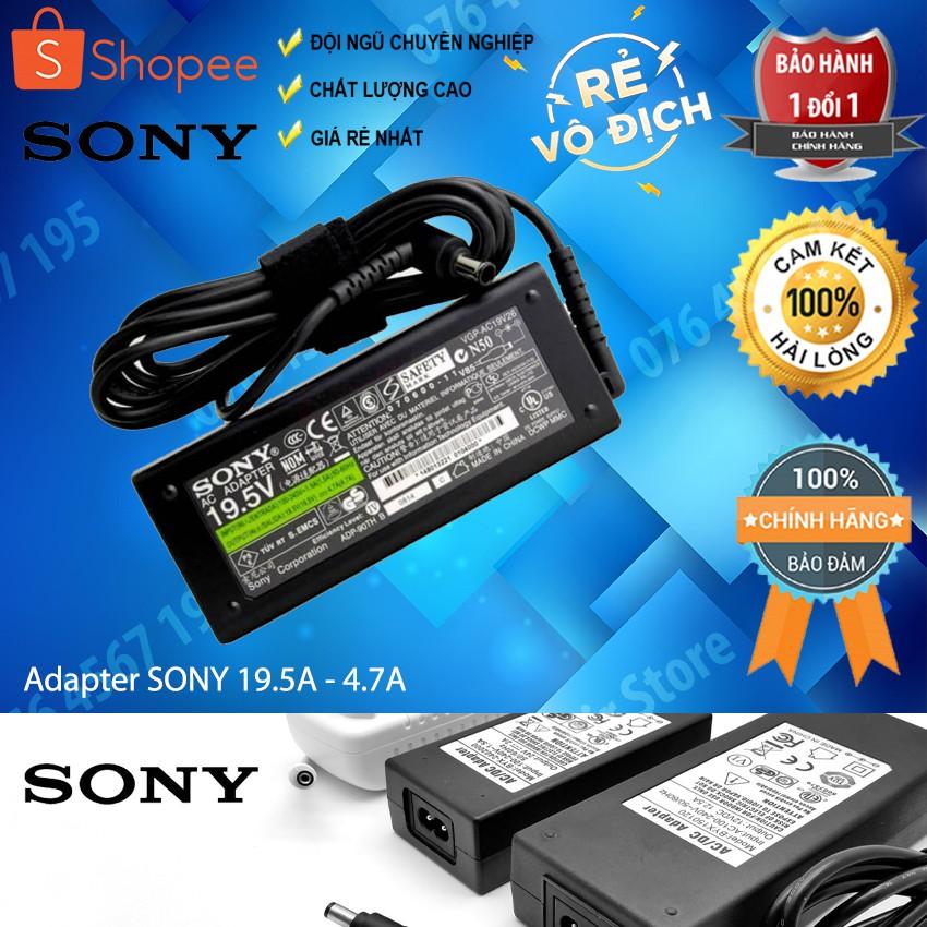Sạc laptop Sony 19.5V - 4.7A (90W)
