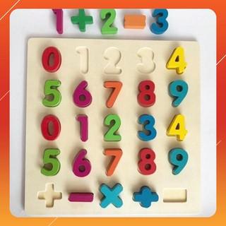 [HGR] Bộ chữ số học toán cho bé yêu Giá sốc