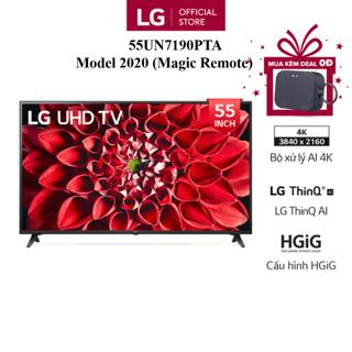 Smart Tivi LG 55 Inch UHD 4K 55UN7190PTA - Model 2020 - Miễn phí lắp đặt