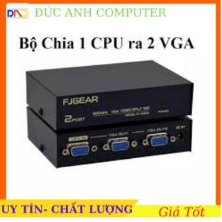 Bộ chia VGA 2 CPU Ra 1 Màn Hình FJGEAR FJ-15-2C (2 Port VGA Video Switch) FJGEAR