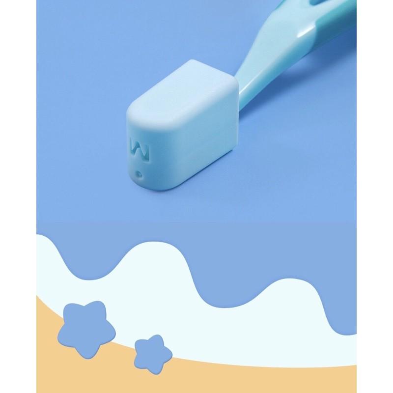 Bàn chải đánh răng lông tơ siêu mềm mịn cho bé 3 tuổi - 12 tuổi (10.000 sợi tơ)