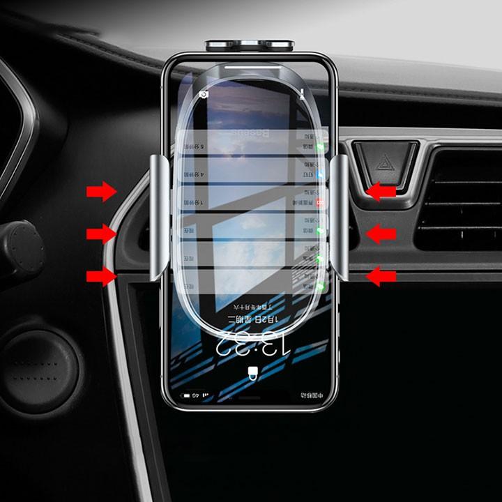[Mã SKAMA06 giảm 8% đơn 250k]Giá đỡ điện thoại thông minh trên xe ô tô Baseus