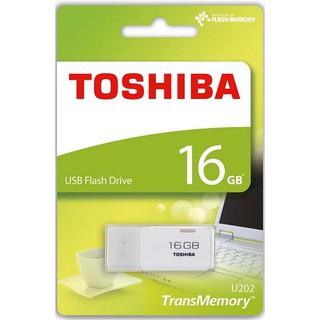 [Mã ELFLASH5 giảm 20K đơn 50K] USB Toshiba 16GB USB 2.0 TransMemory - Hàng chính hãng Bảo hành 24 tháng