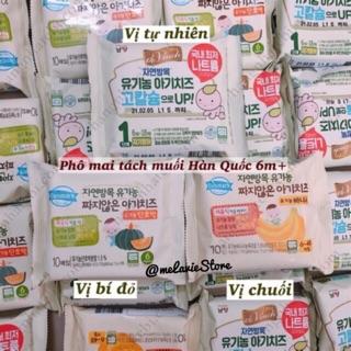 [Có đá khô] Phô mai tách muối hữu cơ Hàn Quốc cho bé 2 2021