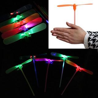 2Pcs LED Flying Dragonfly flash Child Toy Gift